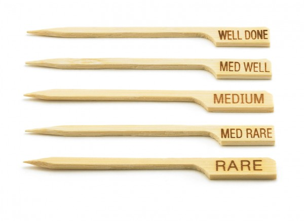 'Med Well' Paddle Pick (100 per pack) 12/box