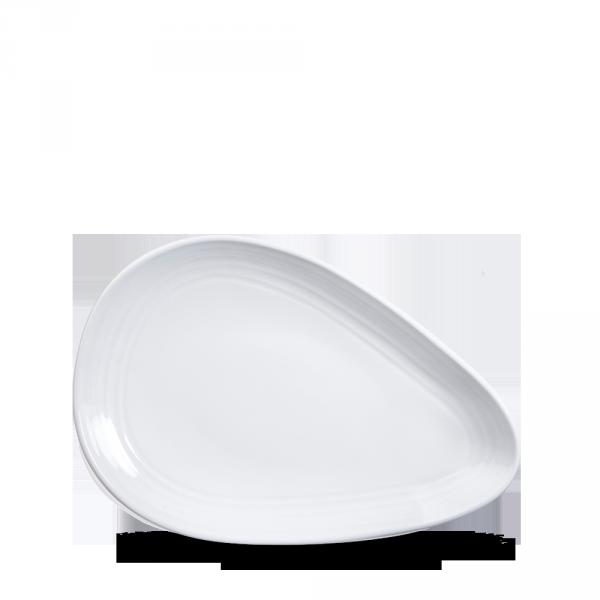 "White Discover Plate 8"" 12/box"
