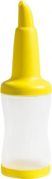 Free Pourer Bottle yellow 1 L