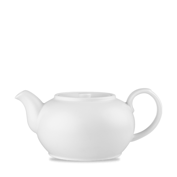 White Nova Teapot 28Oz 4/box