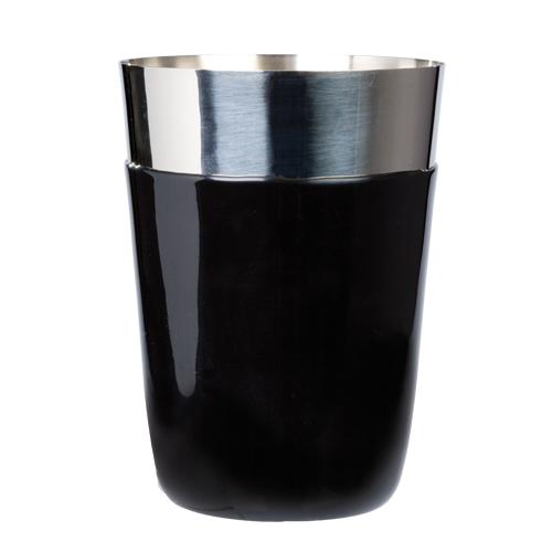 Cocktailshaker vinyl coated black 450 ml OP=OP