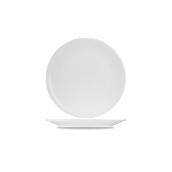 Menu Porcelain Coupe Plate 31Cm 6/box