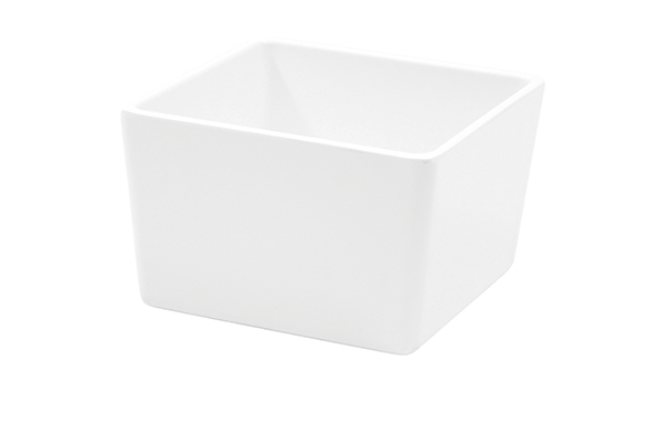 Melamine Straight-Sided Bowl White 1/box