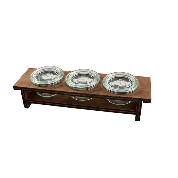 Wooden Tray 3 tiers