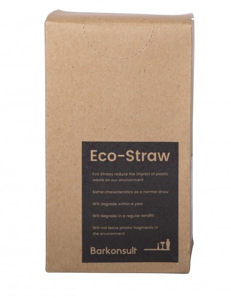 ECO Jumbo straws transparant no flex