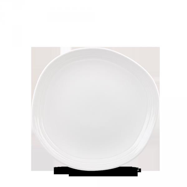 "White Round Discover Plate 8 1/4"" 12/box"