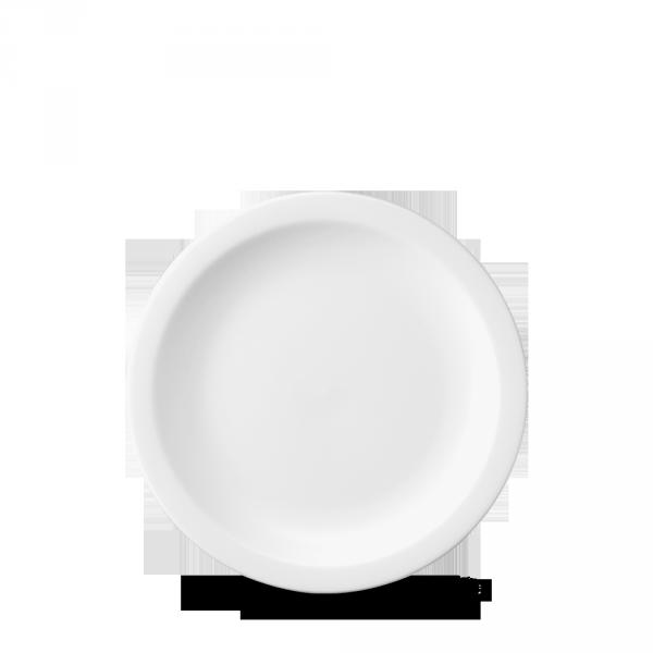 """White Nova Plate 6"""" 24/box"""