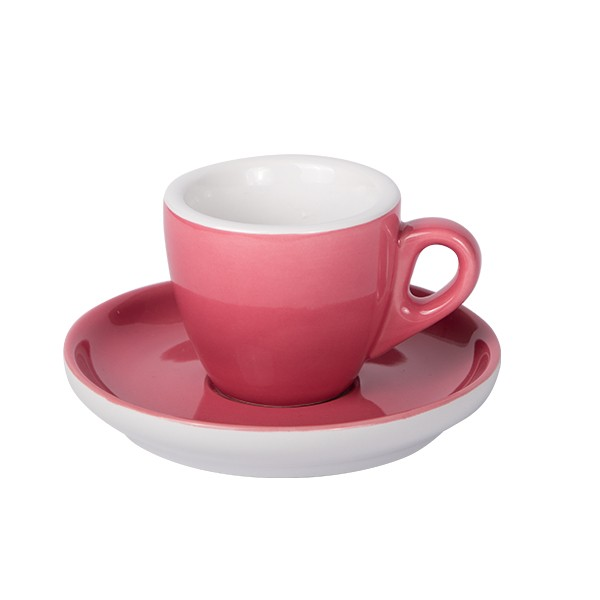 Oven Red - Espresso cup with saucer 55ml