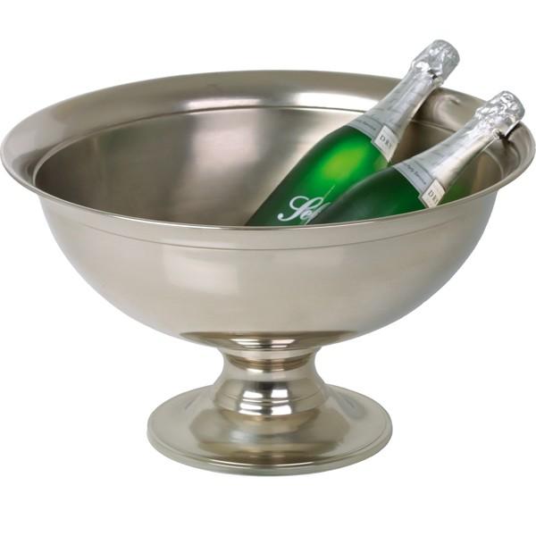 Champagne Bottle Cooler Ř 51 cm H 30,5 cm
