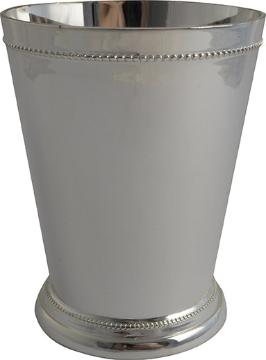 Julep Cup with silver plated 350 ml * H 10,5 cm * Ø 8,5 cm