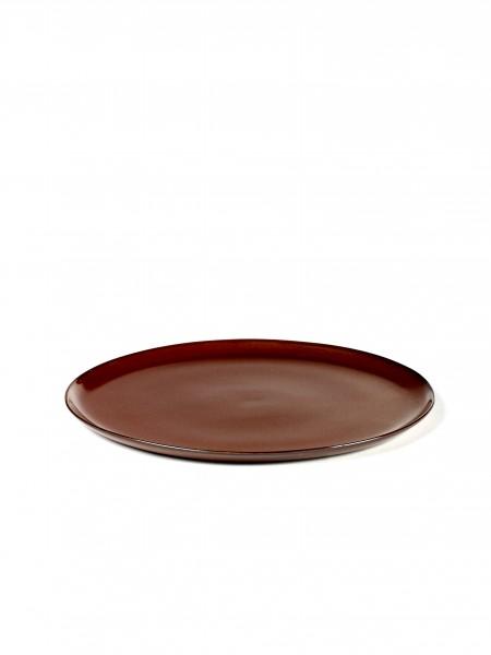 Anita Le Grelle - Terres De Reves - Plate M D22 Rust