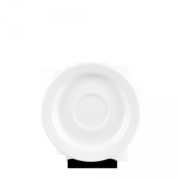 "White Profile Saucer 5 7/8"" 12/box"