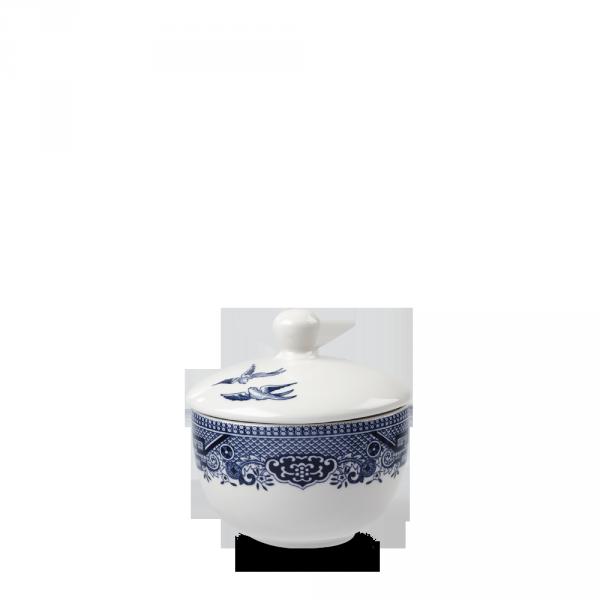 Blue Willow Sandringham Sugar Bowl Box 12