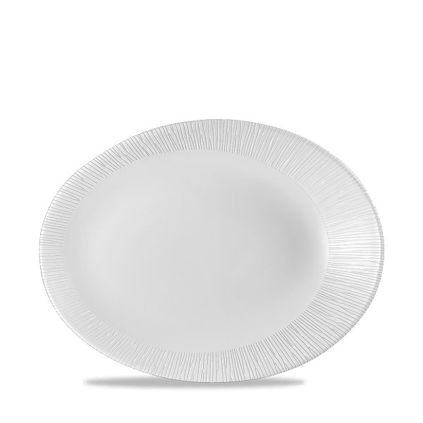 "Bamboo Oval Plate 9.75X7.5"" 12/box"