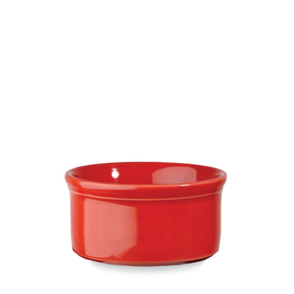 """Red Round Pie Dish 5 1/4"""" 12/box"""