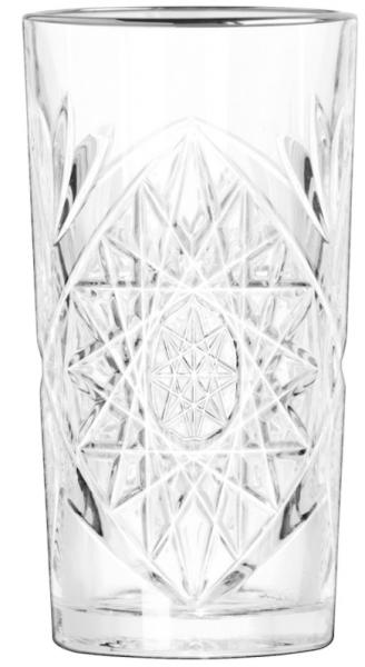 Hobstar Cooler with Platinum rim 473 ml