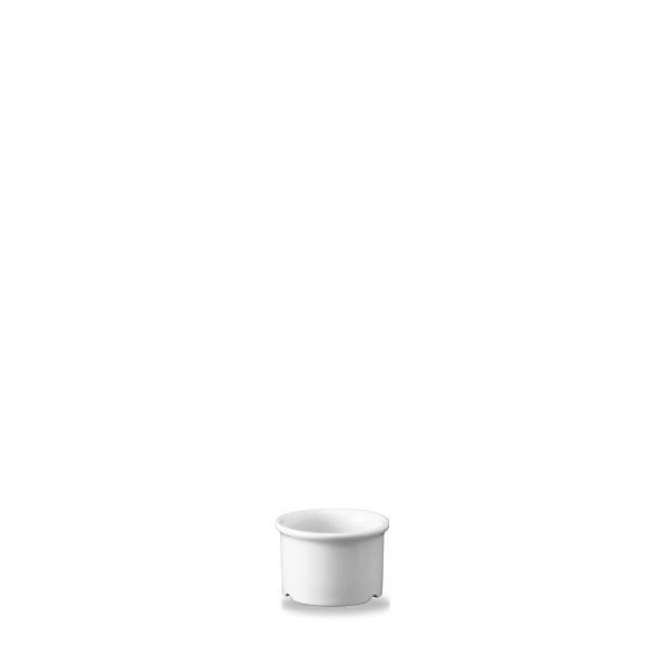 White Dip Dish / Butter Pad 1.5Oz Box 24