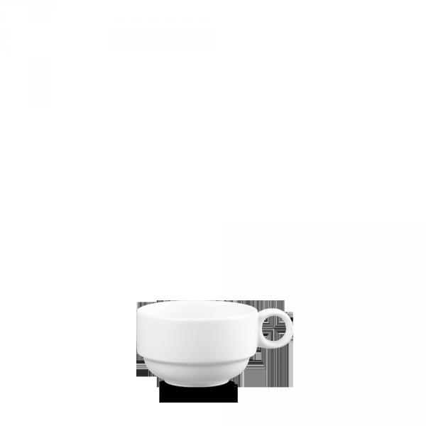 White Profile Stacking Cup 3.9Oz 12/box