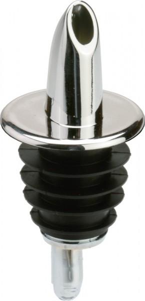 Regular Pourer chrome no collar 12/box