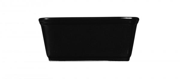 Rustics Black Sparkle Square Deli Dish 18*18 cm