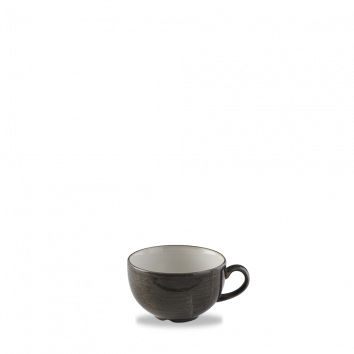 Stonecast Patina Iron Black Cappuccino Cup 12/box