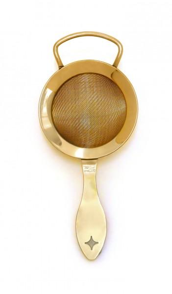 Bonzer heritage fine Strainer gold plated