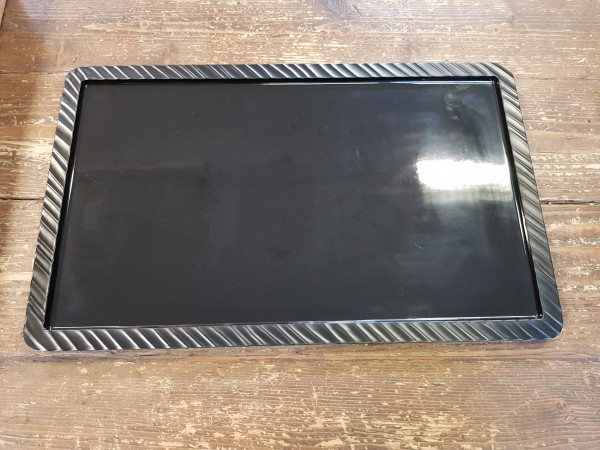 Tray melamine black GN 1/1