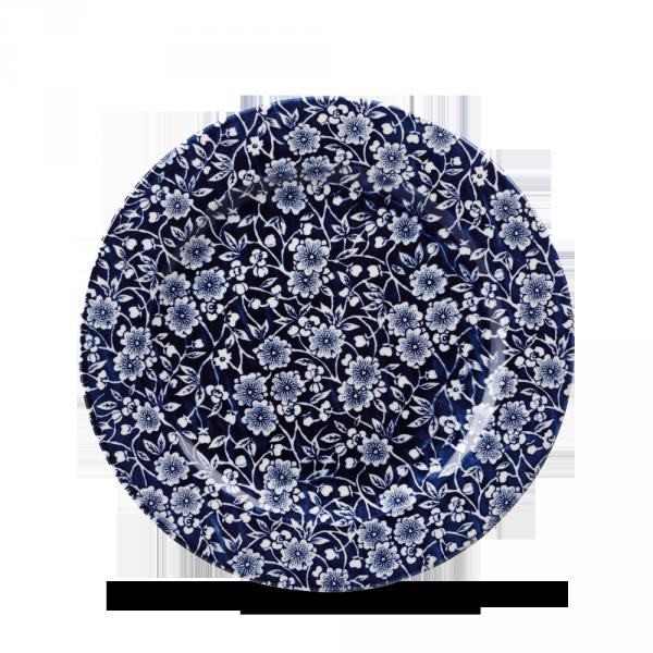 """Victorian Calico Willow Profile Plate 8"""" Box 6"""
