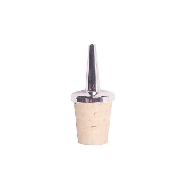 Spare Pourer with natural cork for dash bottle