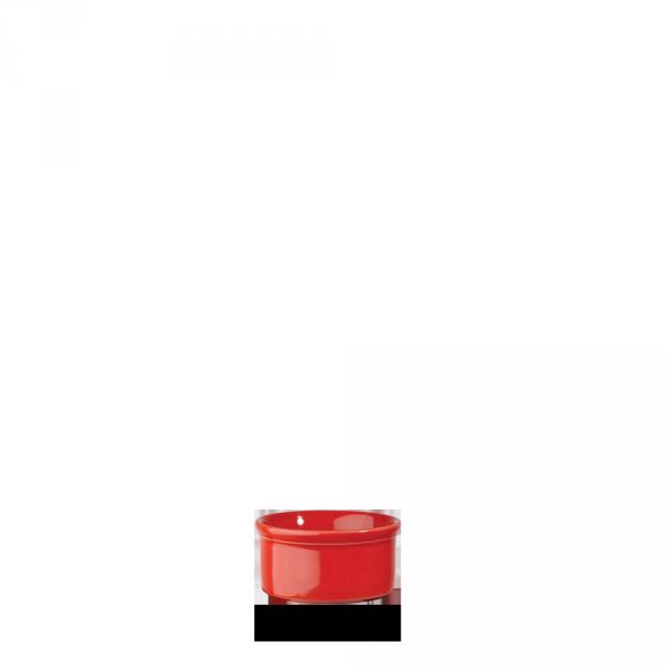 """Red Large Ramekin 3 1/2"""" 24/box"""