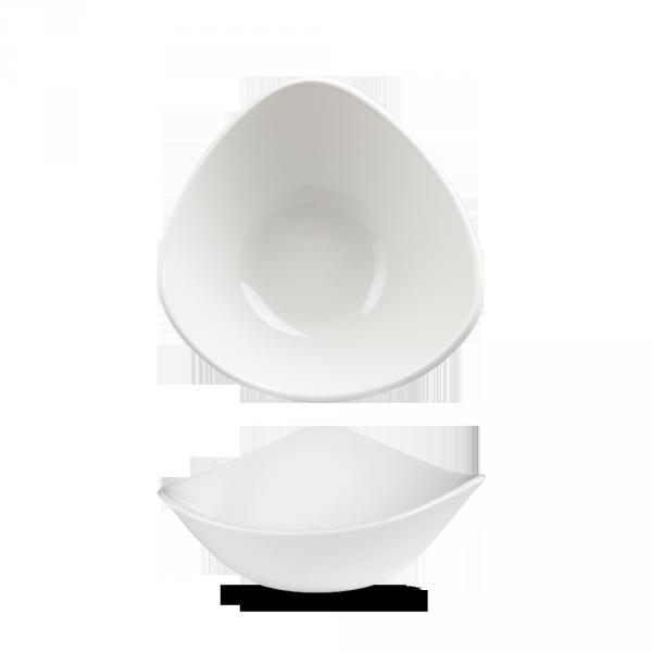 """White Lotus Bowl 7"""" 12/box"""