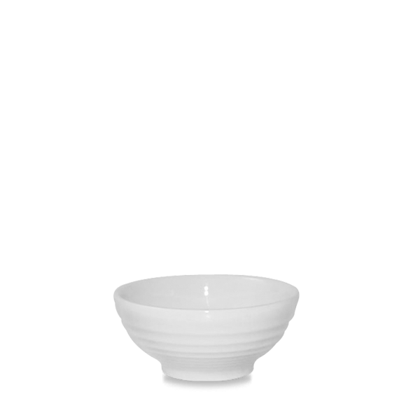 White Ripple Snack Bowl 6Oz Box 12