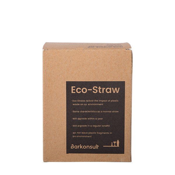 ECO straws transparant with bending part