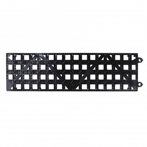 DriDek Interlocking Shelf Mat, Black 8*26*0,5cm