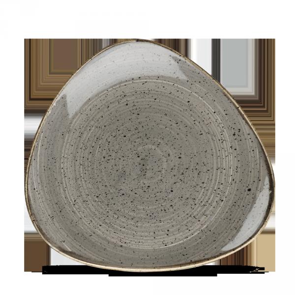 """Stonecast Grey Lotus Plate 7"""" 12/box"""