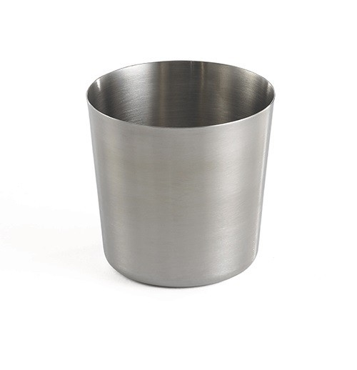 Brushed Finish Round Cup Snack Bowl / Cup RVS 1/box