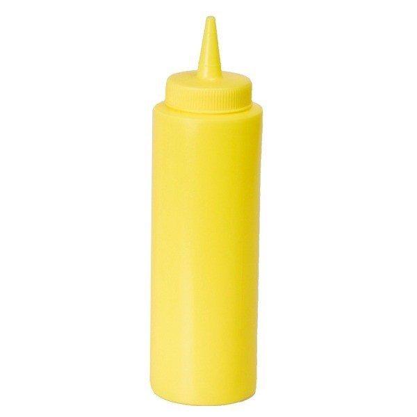 Squeeze Bottle small yellow 236 ml