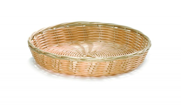 Serving Basket Natural Round 25,5*4 cm