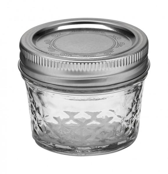 Mason Jar Ball quilted crystal 120 ml