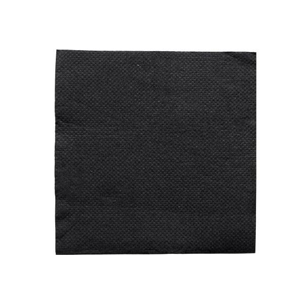 Cocktail Napkins 20*20 cm 1/4 Fold 2Ply 100Pcs Black