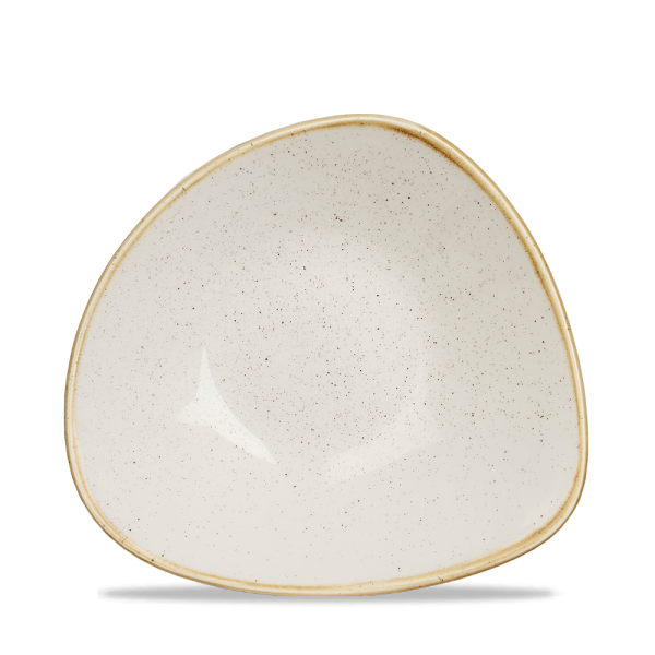 "Stonecast Barley White Lotus Bowl 9"" 12/box"