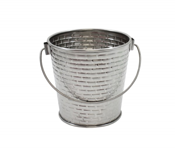 Round pail with handle