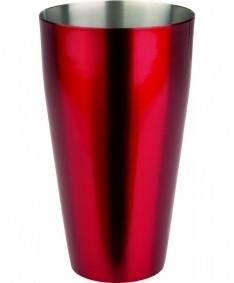 Boston Shaker coated red 830 ml