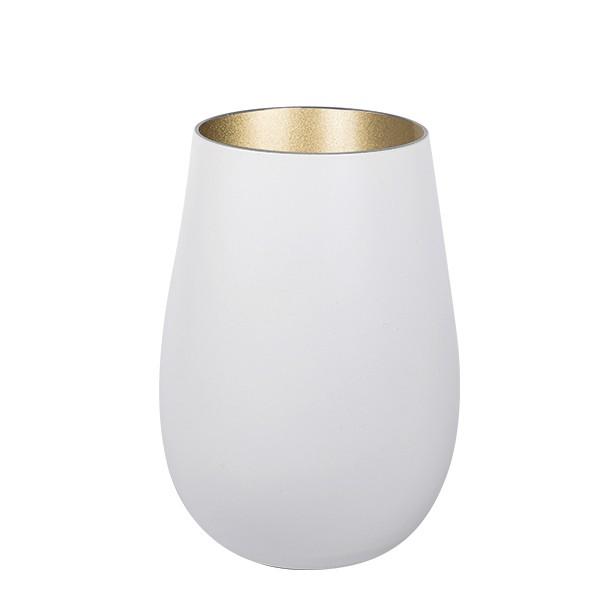 Olympic matt-white Rocks Gold 465 ml 6/box