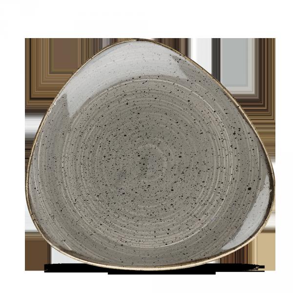 """Stonecast Grey Lotus Plate 9"""" Box 12"""