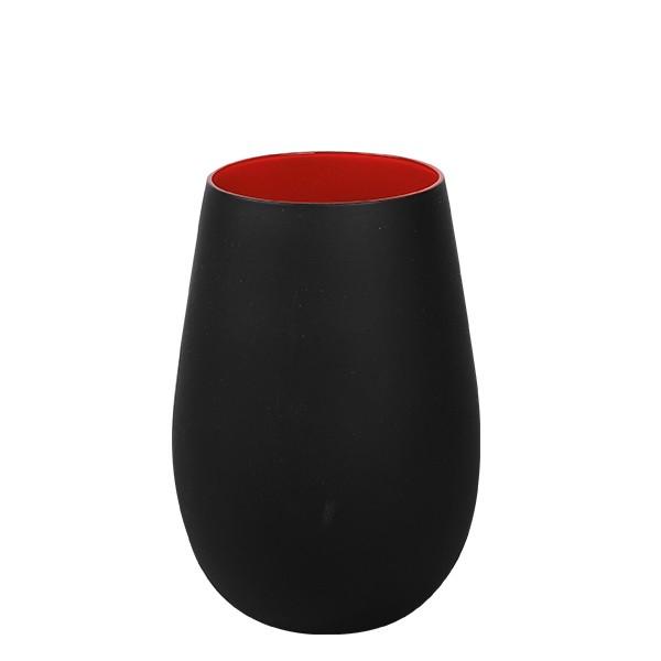 Olympic matt-zwart Rocks Red 465 ml 6/box