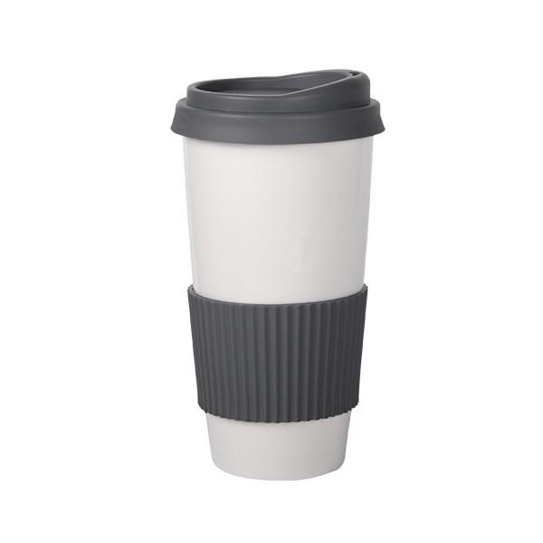 Mug Tumbler with Silicone Lid 600 ml 6/box