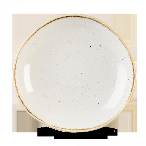 "Stonecast Barley White Round Trace Bowl 9 7/8"" Box 12"