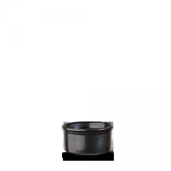 """Metallic Black Large Ramekin 3.5"""" 24/box"""