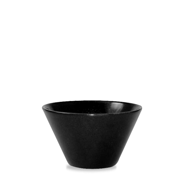 Metallic Black Zest Bowl 17.5Oz 6/box